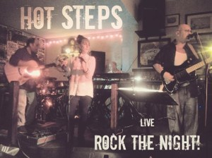 hot steps live music band