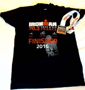 Aix tshirt finisher