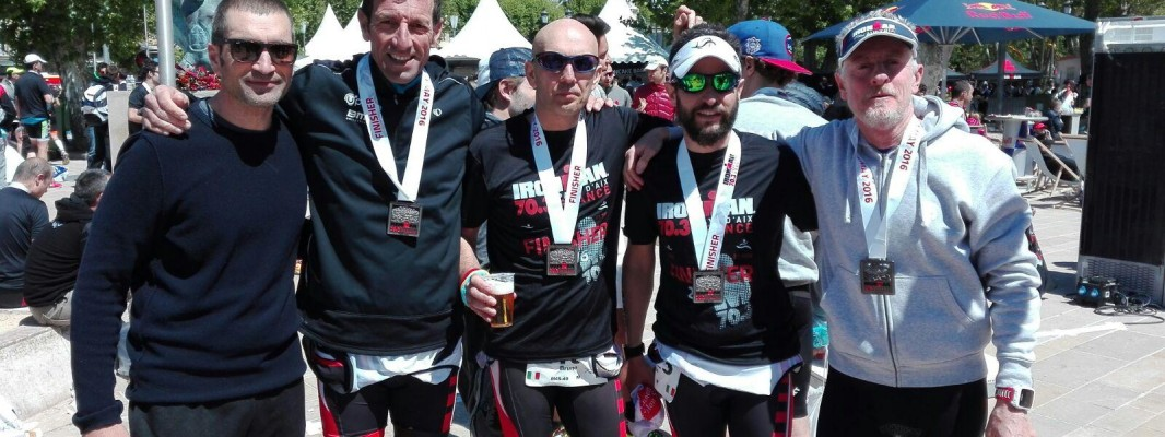 TRIATHLON 2016  – Ironman 70.3 Pays d'Aix World Championship