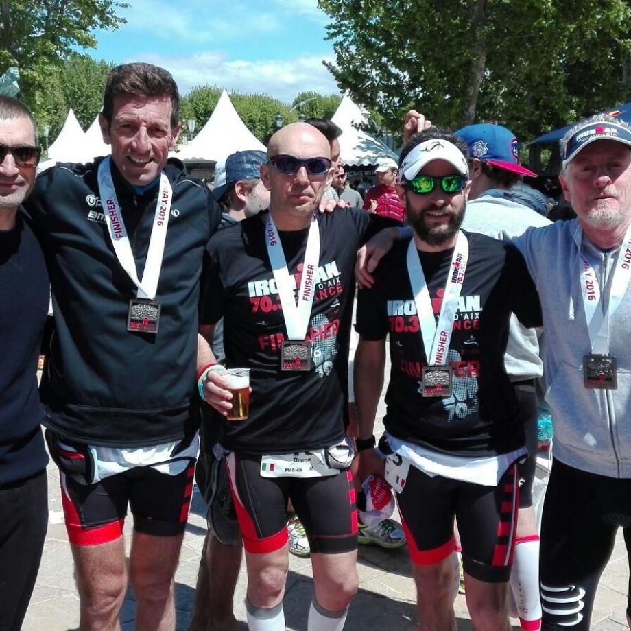 TRIATHLON 2016  – Ironman 70.3 Pays d'Aix World Championship