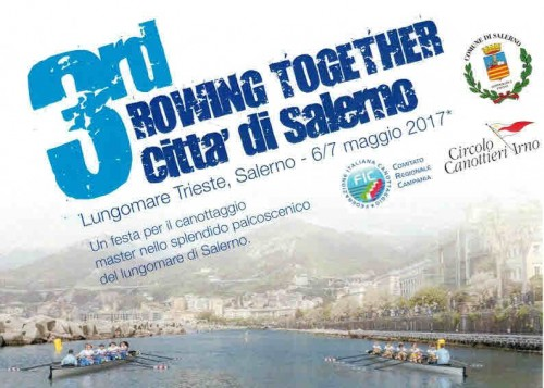 Canottaggio – 6-7 Maggio – Rowing Together