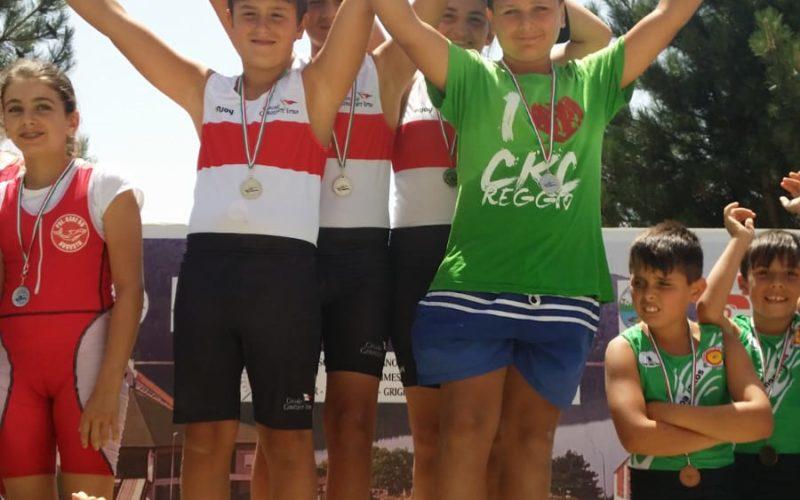 CanoaGiovani: a Lorica tre atleti tre medaglie