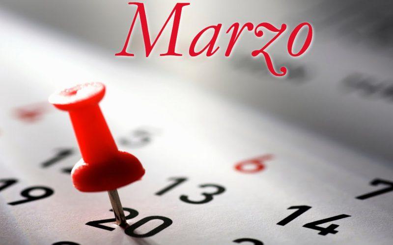 Programma Marzo 2020