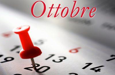 Programma Ottobre 2018
