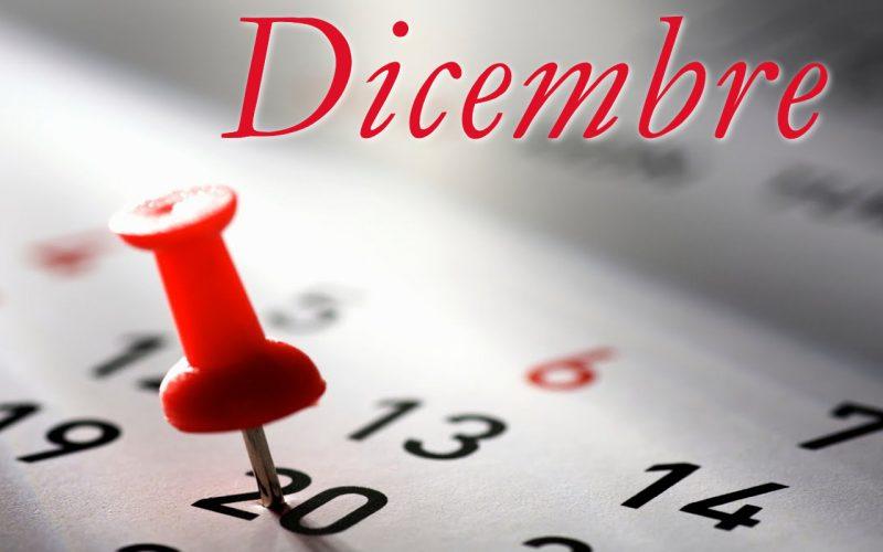 Programma Dicembre 2018