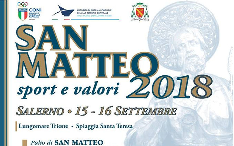 San Matteo sport e valori 2018
