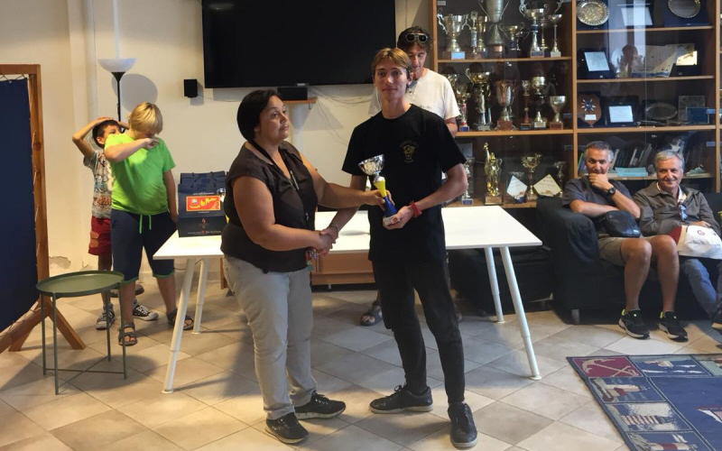 Campionato Zonale laser, doppia vittoria dei laseristi salernitani