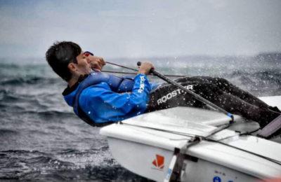 Cinquanta 1° nella prima regata del campionato zonale laser radial 2019