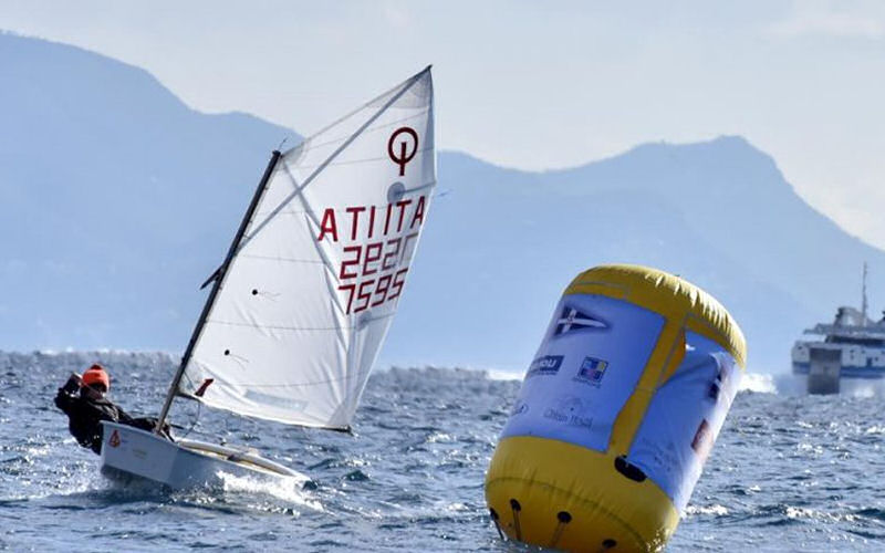 Optimist:  Ad Antonio Vitolo la Coppa Santa Lucia