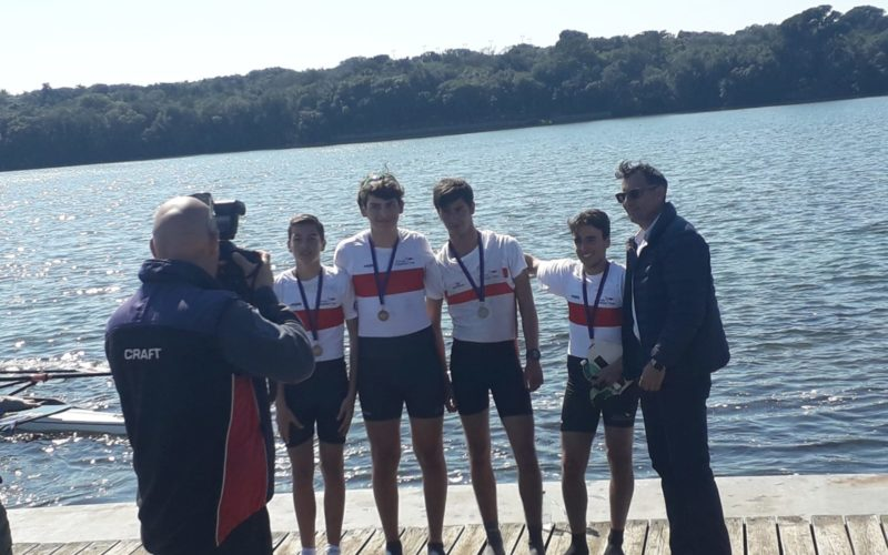En plein a Lago Patria: 19 medaglie per allievi cadetti e ragazzi dell'Irno