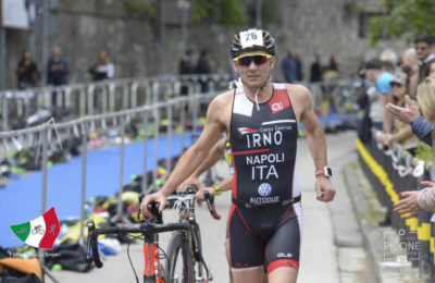 Bruno Napoli 1° M3 nel Triathlon della Palma