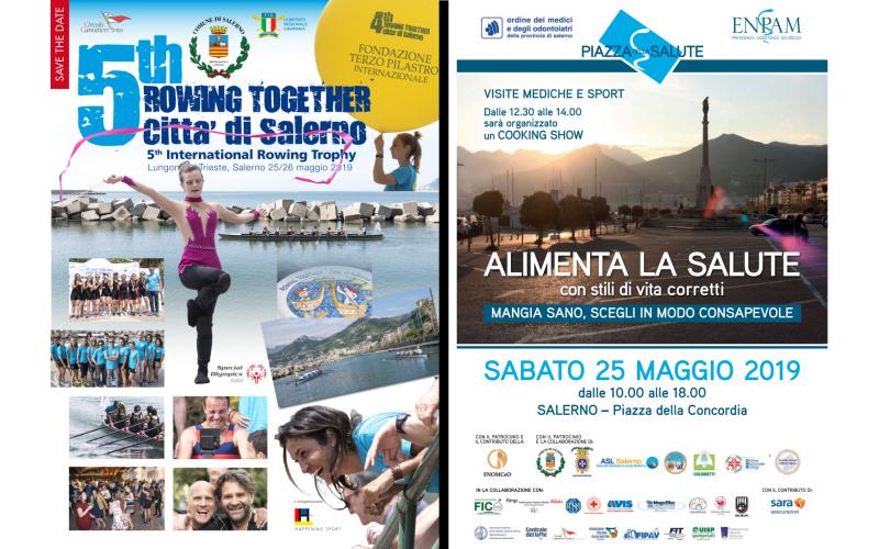 Comunicato stampa: Al via Rowing Together e Piazza della salute