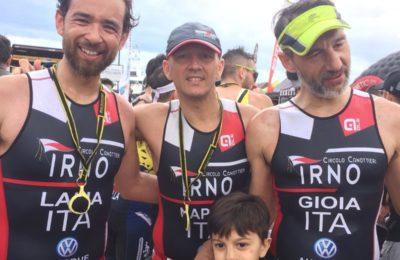 Circolo Canottieri Irno presente al Cala Ponte Week, triatlhon olimpico