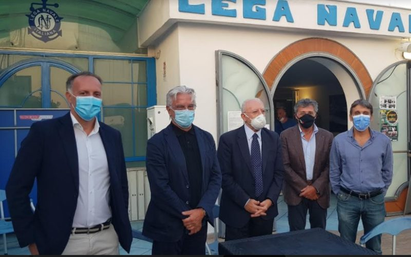 Campionati Italiani Giovanili di vela, De Luca e Napoli alla cerimonia inaugurale