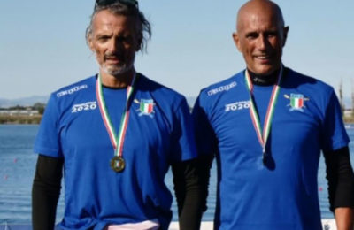 Canottaggio, Canottieri Irno campione d'Italia con i Master Galizia e Sanseverino