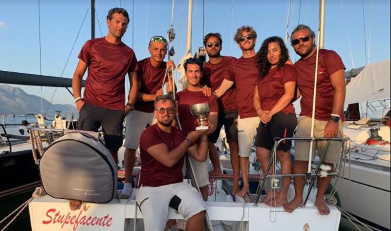 Campionato italiano di Vela d'altura, il Team Stupefacente porta Salerno sul podio