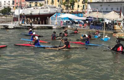 Campionato italiano canoa polo juniores, spettacolo ed emozioni in darsena
