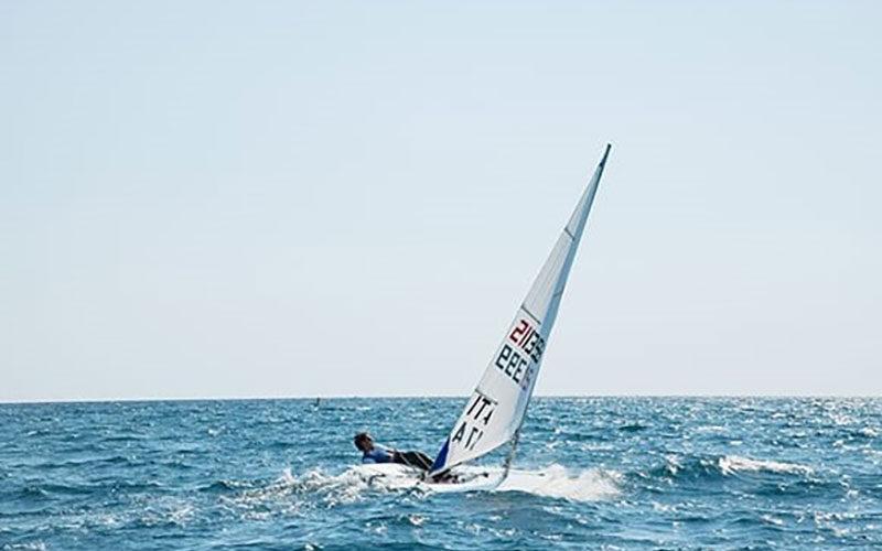 Campionato zonale Laser di vela, Canottieri Irno sugli scudi con Cinquanta e Vitolo
