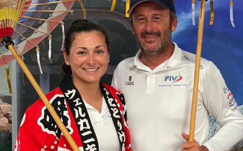 Vela salernitana in festa: il nostro Egon Vigna seleziona altra atleta per le Olimpiadi