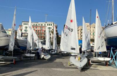 Campionato zonale Laser di vela, l'assenza del vento fa annullare la tappa di Salerno