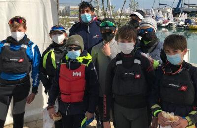 Vela Optimist, il team misto salernitano si fa onore all'International Carnival Race