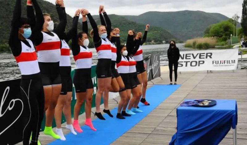 Canottaggio, un medagliere tutto al femminile: l'otto trionfa al Meeting nazionale