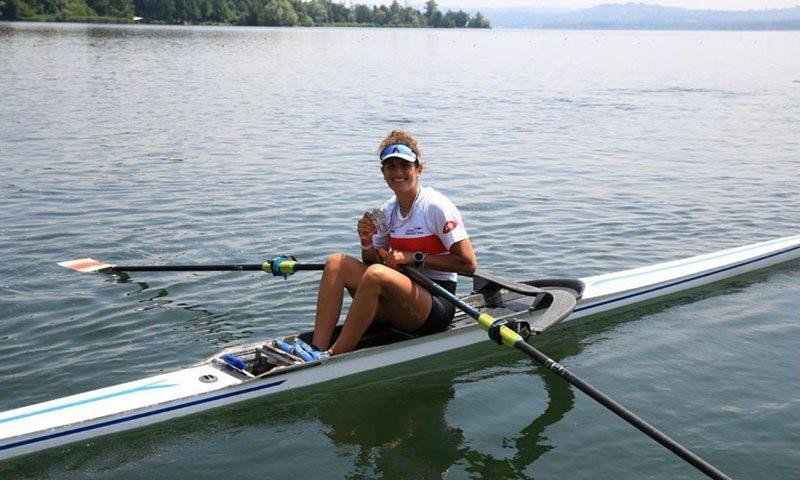 Canottaggio, Gaia Colasante orgoglio dell'Irno: è vice campionessa d'Italia Under 23