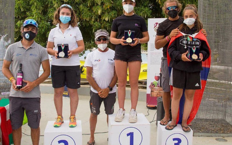 Vela, ancora un podio all'Italia Cup Laser: argento per Lavorato nell'Under 16 Ilca4