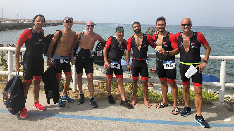Triathlon, settembre ricco di risultati e soddisfazioni per il Circolo Canottieri Irno
