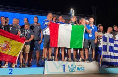 Pesca in apnea: c'è anche il nostro Ascione nel team azzurro campione del mondo