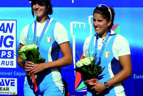 2009 - europeo - podio