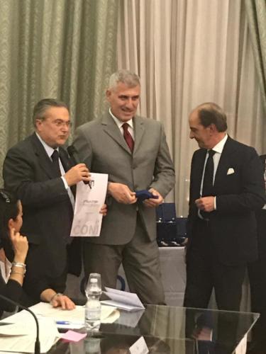 Stella d'oro al merito sportivo a Fabiano Roma ed Alfredo Ricci